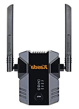 Kasda N300 WiFi Range Extender, Easy Setup Wireless WiFi Rep