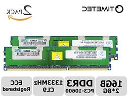 Timetec Samsung 16GB Kit  DDR3 1333MHz PC3-10600 Registered