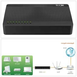 Nexxt Solutions Naxos800 8-Port Fast Ethernet Network Switch