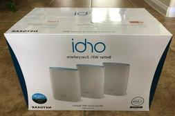 Netgear Orbi AC3000 Tri-band WiFi System Router Coverage up