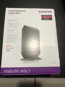 NETGEAR CM700 32x8 1.4Gbps DOCSIS 3.0 High Speed Cable Modem