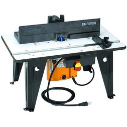 NEW Bench top Router Table with 1-3/4 HP Router 11 amps Free