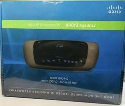 NEW Cisco Linksys E1000 Wireless N Router 300 Mbps 4-Port Fa