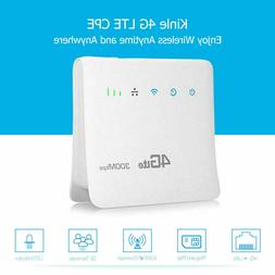 New Kinle 4G LTE CPE WiFi Router 300mbps Hotspot Modem Netwo