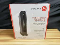 New! MOTOROLA MG7550 16x4 DOCSIS 3.0 Cable Modem + WiFi Giga