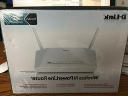 NEW SEALED IN BOX-D-Link DHP-1320 Wireless-N PowerLine Route