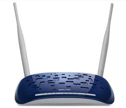 NEW TP-LINK 300M WIRELESS N ADSL2+ MODEM ROUTER 4 PORTS ADSL
