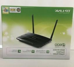 NEW TP-LINK N600 Wireless Dual Band Gigabit Router ++FREE SH