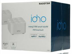 Netgear Orbi Mesh Wi-Fi System 2 Pack Up to 3,000 SF 1.2Gbps