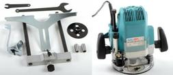 "1/2"" and 1/4"" Plunge Router Electric Wood Routing Machine Co"