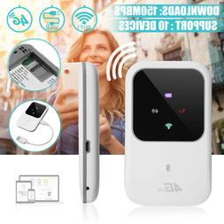 Portable 4G WIFI Router SIM 150Mbps LTE Mobile Broadband Hot