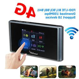 Portable WIFI Router 4G LTE Touch Wireless Mobile Hotspot Mo
