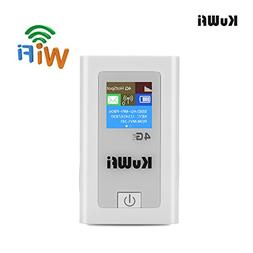 KuWFi Portable 5200mAH Power Bank 3G 4G Wireless Route 150Mb