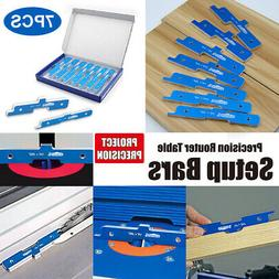 Precision Router Table Setup Bars Table Shaper Height Adjust