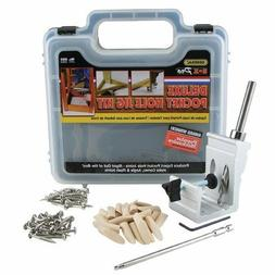 Pro Pocket Hole Jig Kit 850 Ez Tool System Woodworking Screw