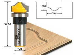 "3/4"" Faux Panel Ogee Groove Router Bit - 1/2"" Shank - Yonico"