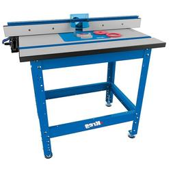 Kreg PRS1045  Router Table with Caster, Switch, Bars