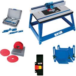 Kreg PRS2100 Bench Top Router Table with Essential Accessori