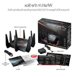 ROG Rapture GT-AC5300 Online Gaming Wifi Router, 8-port Giga