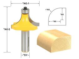 "5/8"" Radius Round Over Edge Forming Router Bit - 1/2"" Shank"