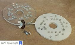 """Universal Router Base Plate for Compact Trim Routers5-3/4""""Di"""