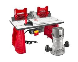 Craftsman 9.5 Amp Router Table Combo 1-3/4 HP Power Shaper W