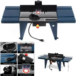 Router Table Craftsman Woodworking Tool Electric Aluminium B