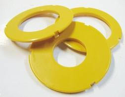 "Router Table Insert Ring Set, 3"" OD, Fits Sears Craftsman &"