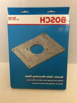 Bosch Router Table Mounting Plate RA1185
