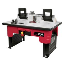 Router Table Skil Storage Top Accessory Folding Precision Be