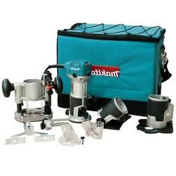 Makita RT0701CX3 1-1/4 HP Compact Router Kit with Dust Colle