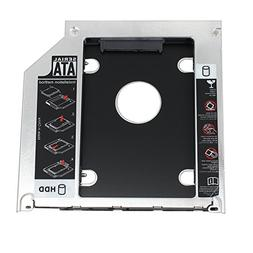 "Proster 2.5"" SATA Hard Drive Caddy Tray SSD HDD Hard Disk In"