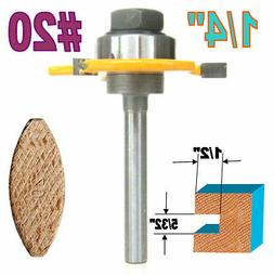 """1 pc 1/4"""" SH Biscuit #20 Slotting 5/32""""x1/2"""" Joint Assembly"""