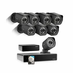 Zmodo 1080p Full HD 8 Outdoor Video Surveillance Security Ca