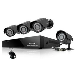 Zmodo Smart PoE Security System -- 8 Channel NVR & 4 x 1080p