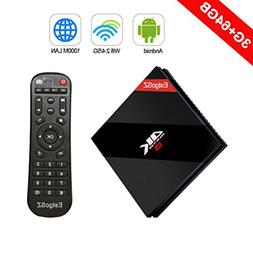 EstgoSZ Smart TV BOX 3GB/64 GB Android 7.1 OS, Amlogic S912