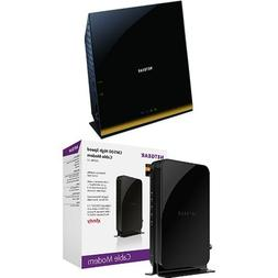 NETGEAR Smart WiFi Router AC1750 Dual Band Gigabit  Bundle w