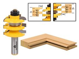 """Cove Stacked Rail and Stile Router Bit - 1/2"""" Shank - Yonico"""
