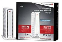 Motorola SURFboard eXtreme Cable Modem & Wi-Fi AC Router wit
