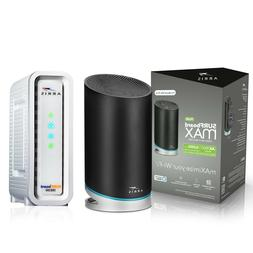 SURFboard mAX™ Plus Mesh Wi-Fi® 6 router & SB8200 Cable M