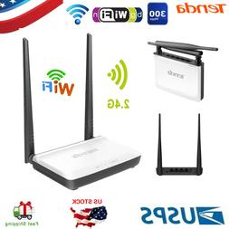 Tenda 300Mbps Wireless WiFi Router Repeater Booster Wireless