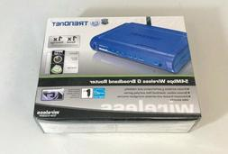 TRENDnet TEW-432BRP 54 Mbps 4-Port 10/100 Wireless G Router