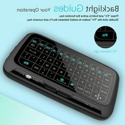 Touchpad 2.4G Backlight Keyboard Air Mouse Remote for Androi