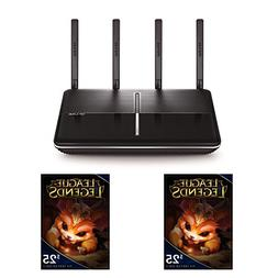 TP-LINK AC2600 MU-MIMO Wireless Gigabit Wi-Fi Router and Two