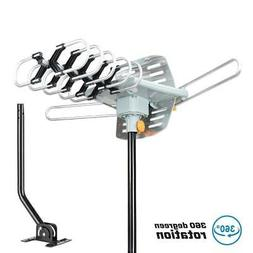 TV Antenna Amplified 150miles Long Range Outdoor HDTV Digita