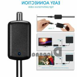 TV Signal Amplifier Booster Digital HD For Cable TV Fox Ante