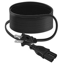 Outtag UL Listed 12Ft 2 Prong AC POWER CORD Wall Cable for V