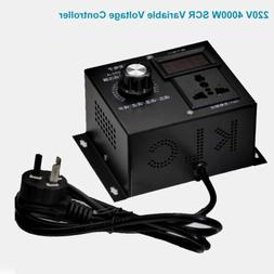 Universal SCR Variable Voltage Router Fan Speed Control Cont