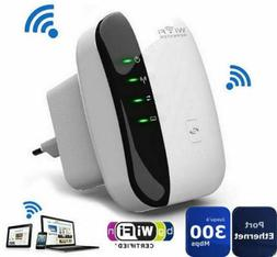 US Plug 300Mbps 802.11 Wireless Wifi Repeater AP Router Sign