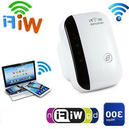 US Plug WiFi 300Mbps Repeater Router Extender Signal Super B